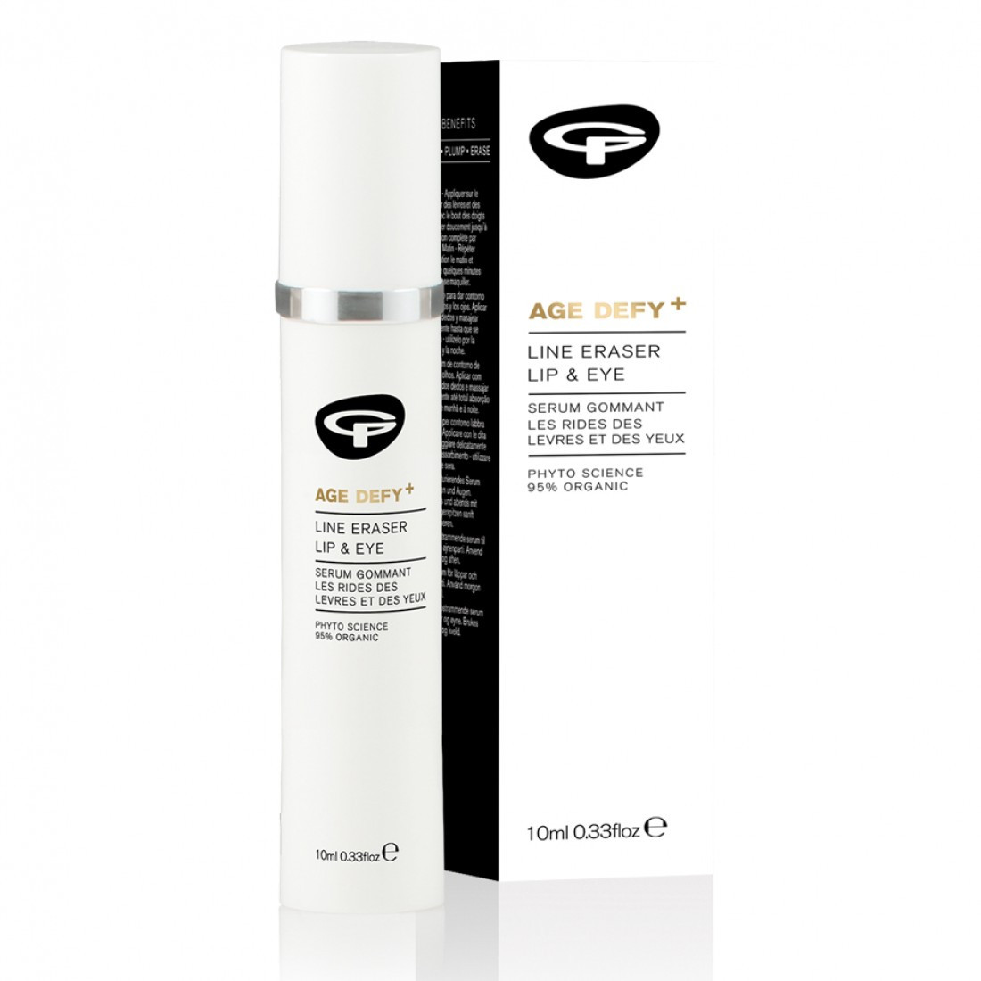 Green People Age Defy+ Line Eraser Lip and Eye Serum (10 ml)