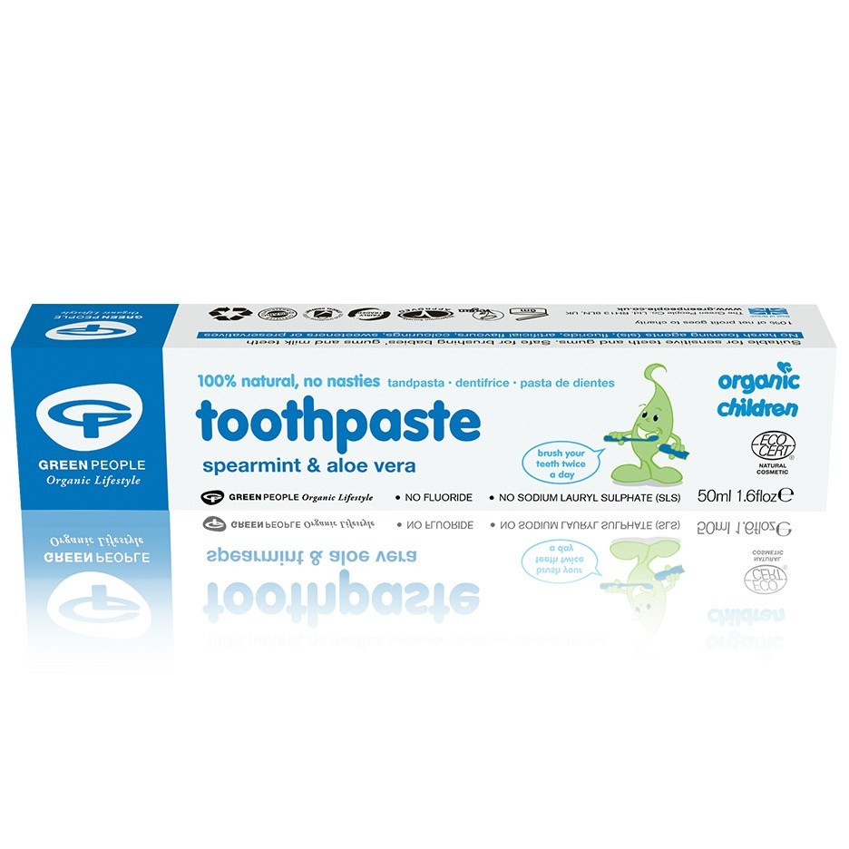Green People Childrens Spearmint Toothpaste (50 ml)