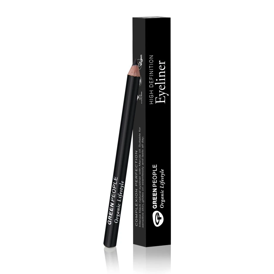 Green People High Definition Eye Liner - Carbon Black