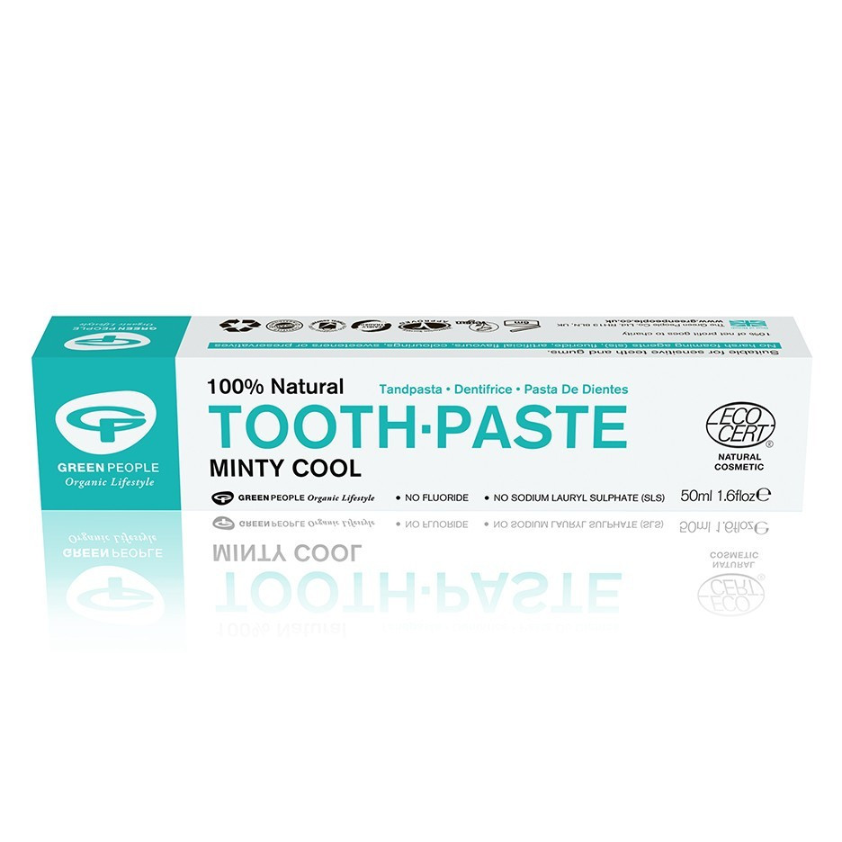 Green People Minty Cool Toothpaste (50 ml)