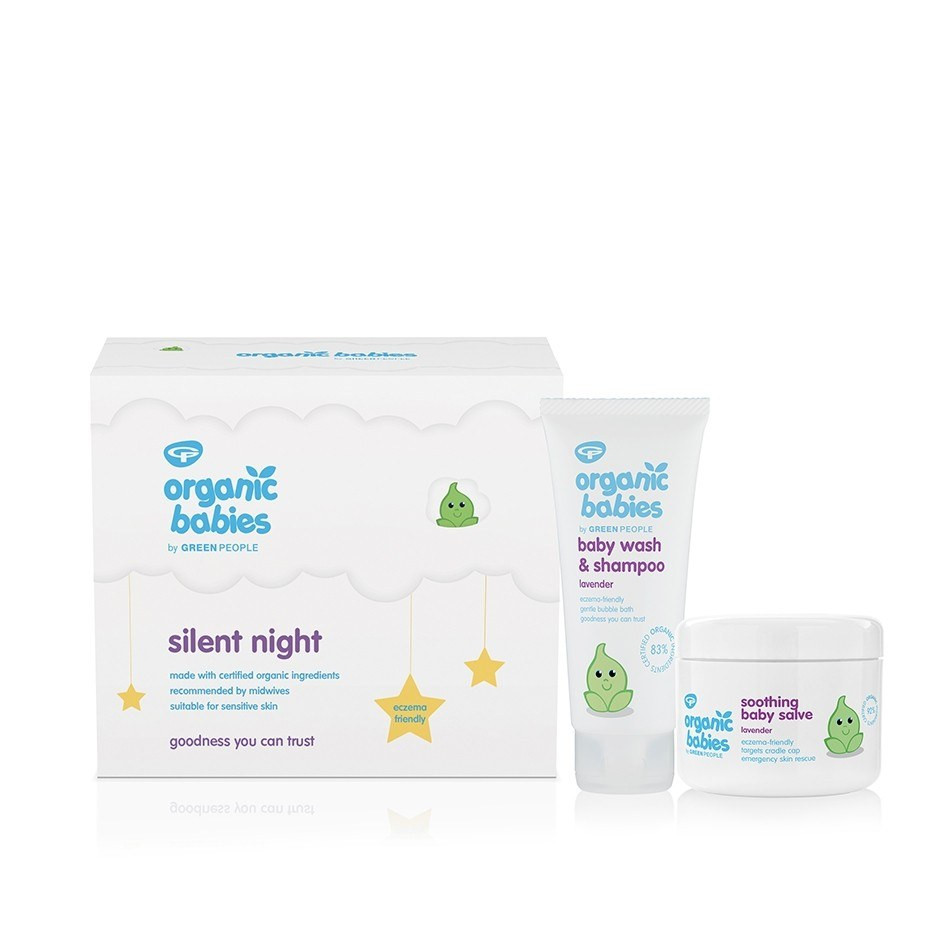 Green People Silent Night Baby Gift - Lavender (2 x 100 ml)