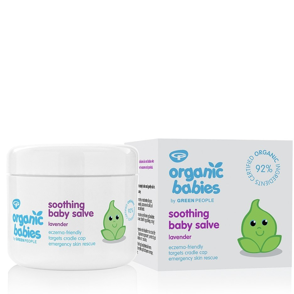 Green People Soothing Baby Salve - Lavender (100 ml)