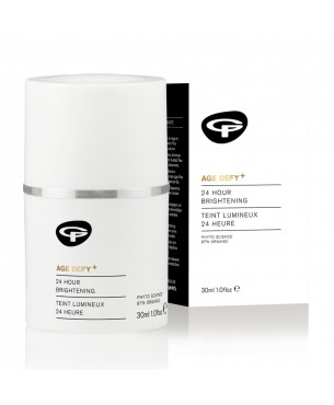 Green People Age Defy+ 24 Hour Brightening Moisturiser (30 ml)