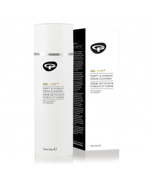 Green People Age Defy+ Purify and Hydrate Cream Cleanser (150 ml)