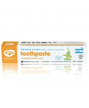 Green People Childrens Mandarin Toothpaste (50 ml)