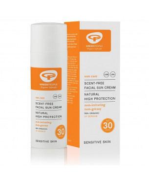 Green People Facial Sun Cream SPF30 (50 ml)