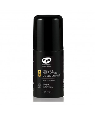 Green People Men's Care No. 8 Thyme & Prebiotics Deodorant (75 ml)
