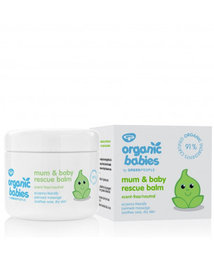 Green People Mum & Baby Rescue Balm - Neutral (100 ml)