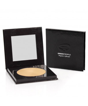 Green People Pressed Mineral Powder - Caramel Light (10 g)