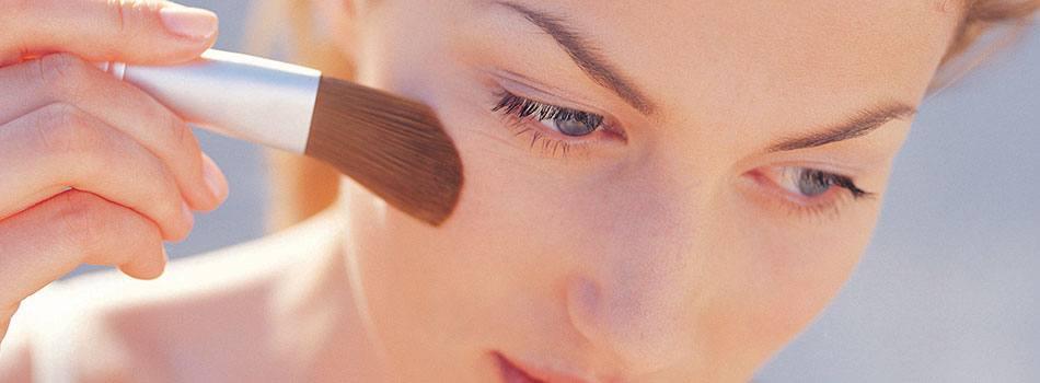 Make-up, anvendelse med allergi overfor nødder
